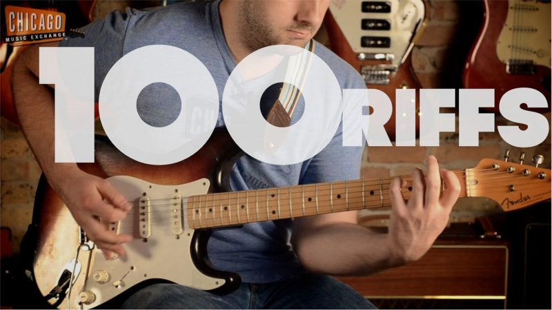 100 riffs (a brief history of rock n' roll) | total videos